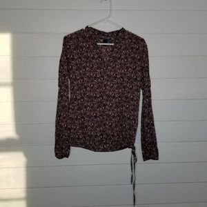 Lucky Brand Printed Blouse Size Small